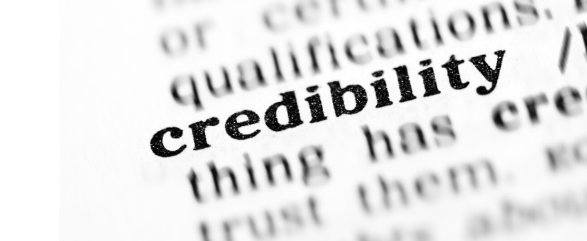 The Credibility Question